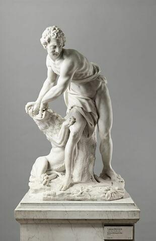 Samson déchirant la gueule du lion