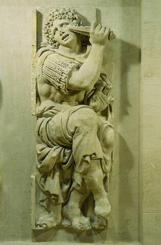 Le fils de Zaleucus se crevant un oeil