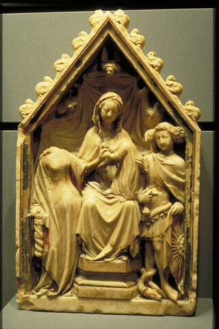 Le Mariage mystique de sainte Catherine en présence de saint Michel