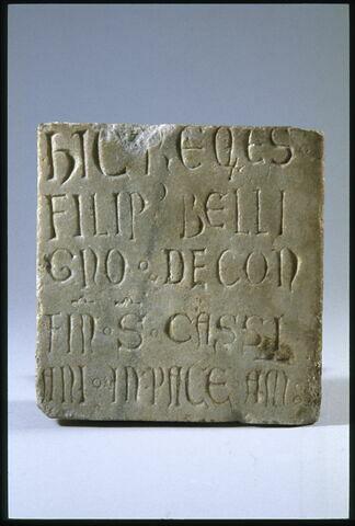 Épitaphe de Filipus Beligno