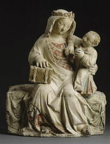 La Vierge assise et l'Enfant