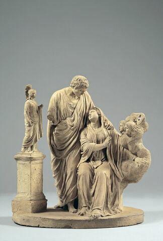 Brutus consolant son épouse