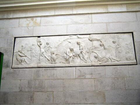 Jupiter chez les corybantes - relief de la laiterie de la reine