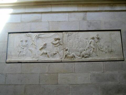 Apollon berger - relief de la laiterie de la reine