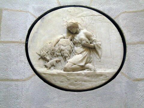 Le Distribution du sel - relief de la Laiterrie de la reine