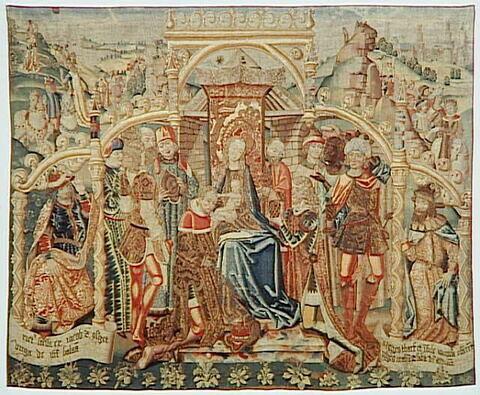 Tapisserie : L'Adoration des mages