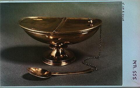 Navette à encens (cuiller MR 555 A) de la chapelle de l'ordre du Saint-Esprit