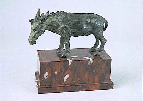 Statuette : âne