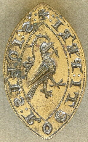 Matrice de sceau : Jean Roet, prêtre