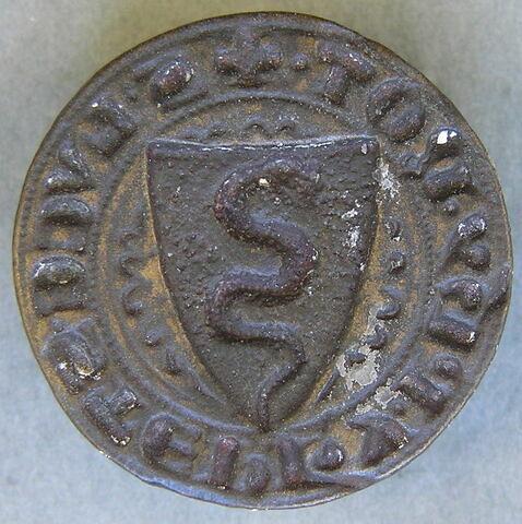 Matrice de sceau : Luca di Stefano di Filippo, notaire