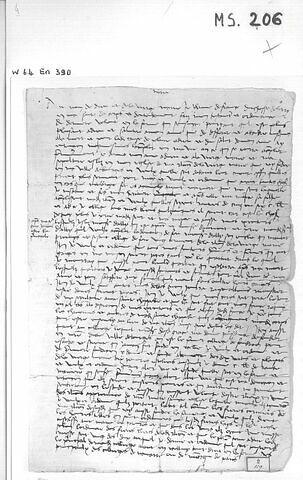 Copie du testament de Jeanne de France, signée par elle. Bourges, 10.1.1504.