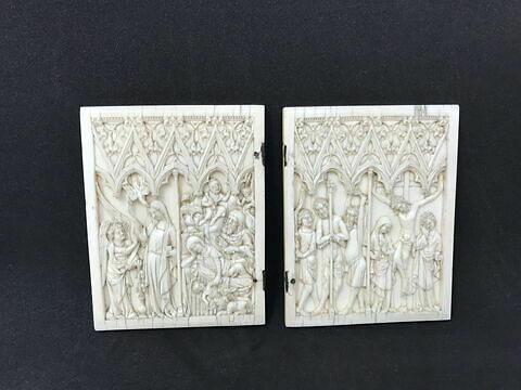 Diptyque : Scènes de la vie de la Vierge et de la Passion.