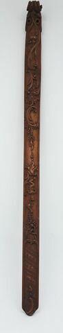 Busc de femme en bois sculpté