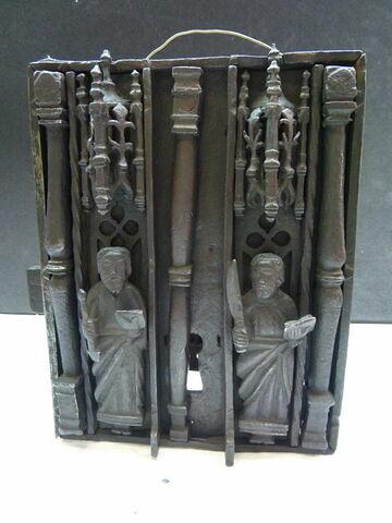 Serrure : saints Victorin et Barthélemy