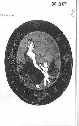 Revers de miroir : Vénus et l'Amour