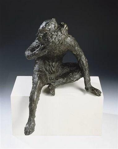 Statuette : singe