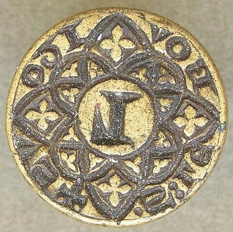 Matrice de sceau : Lebovitous.