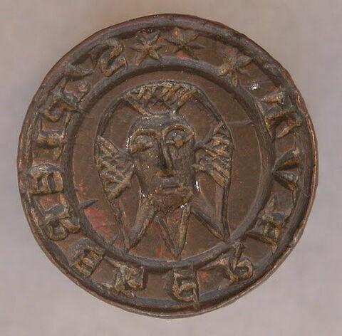 Matrice de sceau : Pierre Héraut.