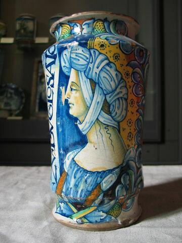 Albarello : buste féminin