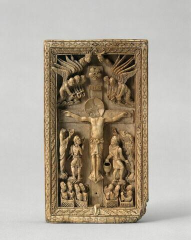 Plaque de reliure : Crucifixion.