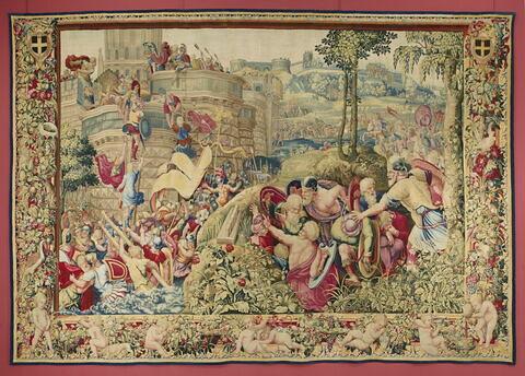 La Prise de Carthagène, de la tenture de l'Histoire de Scipion