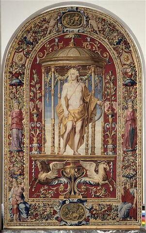 Apollon, d'une garniture complétant une tenture des Mois Grotesques