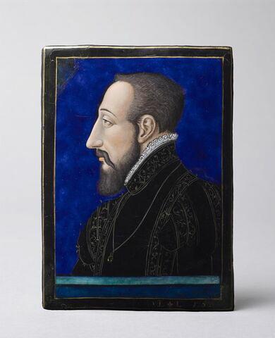 Plaque : Portrait d' Henri II
