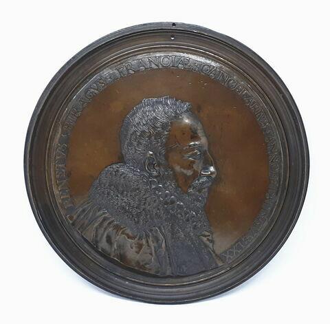 Médaillon : Le chancelier de Birague (1506-1583)