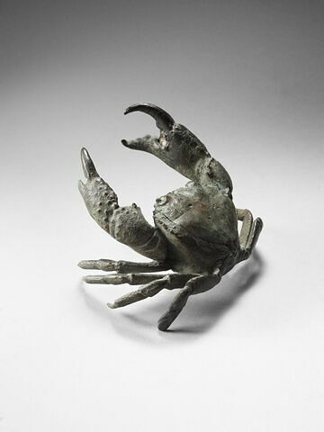 Encrier : crabe de mer