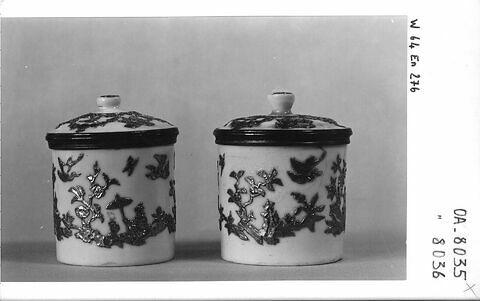 Pot à fard, d'une paire (OA 8036)