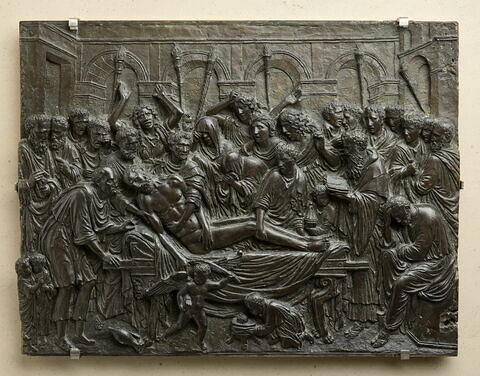 Bas-relief : mort