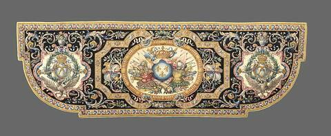 Tapis d'alcove de la Grande Chambre du Roi aux Tuileries