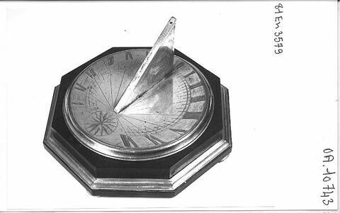 Cadran solaire horizontal
