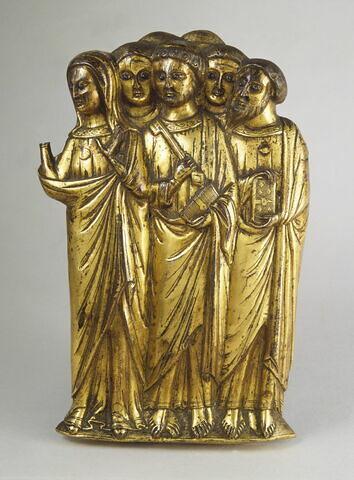 La Vierge et six apôtres, groupe d'une Ascension