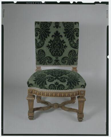 Chaise de l'antichambre Napoléon III (d'un ensemble de huit)