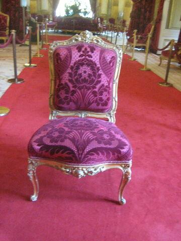 Chaise, grand modèle.
