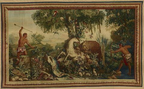Le Cheval rayé, de la tenture des Indes