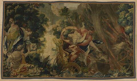L'enlèvement de Proserpine, de la tenture des Amours des Dieux