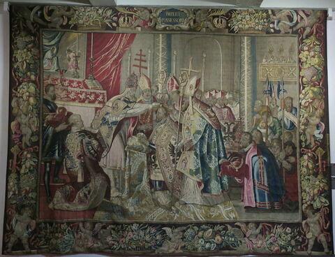 Le Sacre, de la tenture de l'Histoire de Charles Quint