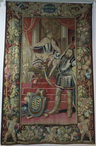 La Victoire sur les Saxons, de la tenture de l'Histoire de Charles Quint