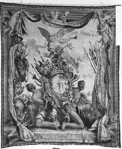Portière aux armes de Filippo Archinto, de Milan
