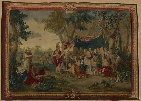 Alexandre et la famille de Darius, de la tenture de l'Histoire d'Alexandre