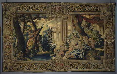 Renaud dans les bras d'Armide, d'une tenture de Renaud et Armide