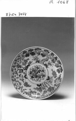 Plat en porcelaine de Chine
