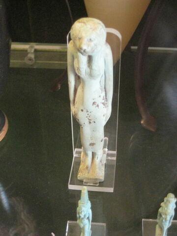 Sekhmet avec pilier dorsal inscrit