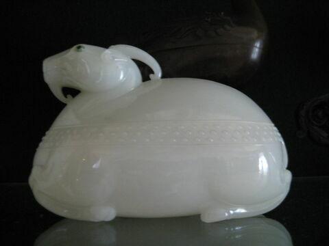 Boîte en forme d'animal, d'une paire (TH 334)