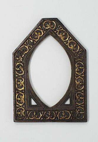 Cadre de l'empreinte de sceau de Guillaume Raymond de Vich