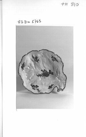 Compotier feuille de chou, d'une paire (TH 839), d'un service (TH 809 à 1066)
