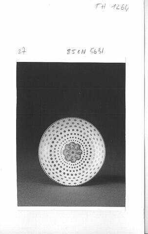 Tasse litron et soucoupe, d'une paire (TH 1263)
