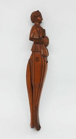 Casse-noix sculpté en bois